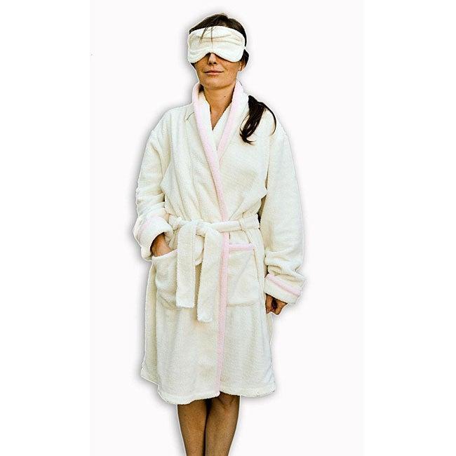 Dea Aromatherapy Bath Robe and Eye Pillow Set