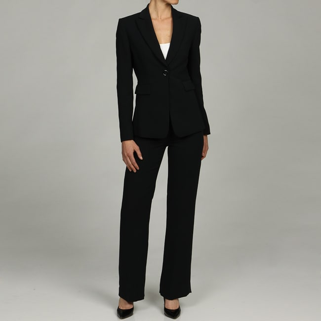 Elegant Not Only Are Pant Suits And Skirt Suits Absolutely Appropriate, But With Jumpsuits And Pants Making Their Way To The Top Of Fashion Trends, Suits Are Actually A Popular Option Among Women Of All Ages  Silver, Navy, And Black In Sizes 14 Plus