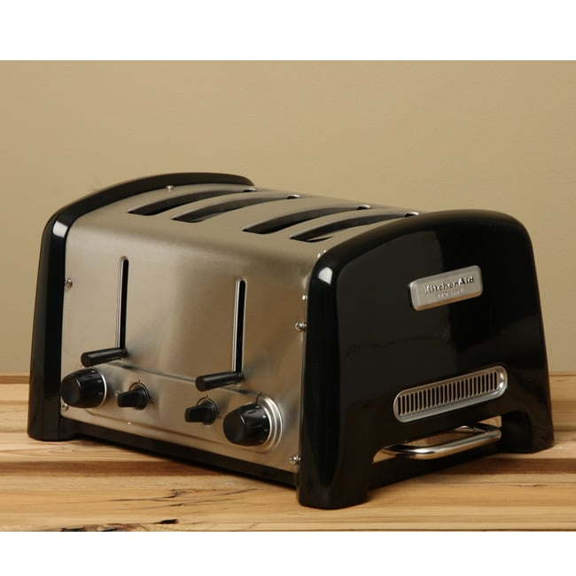 Black Kitchenaid Toaster: KitchenAid KPTT890OB Onyx Black ProLine 4-slice Toaster