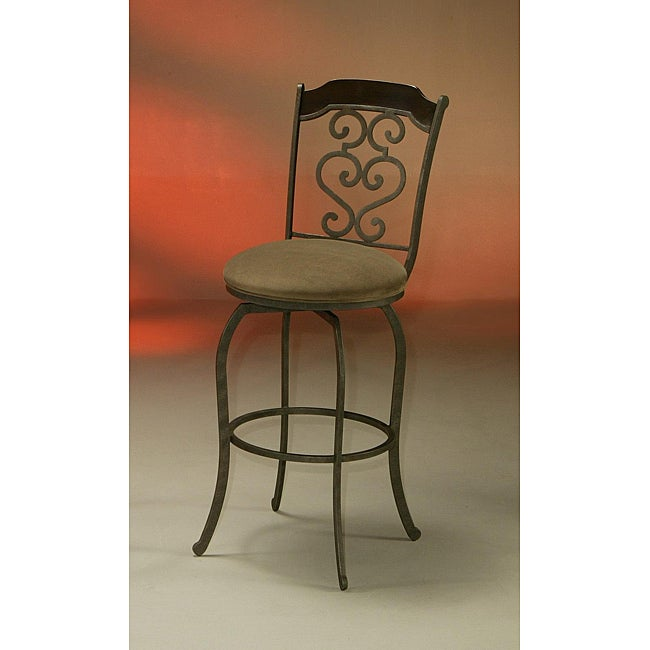 Jersey Meadow 26-inch Brown Counter Stool