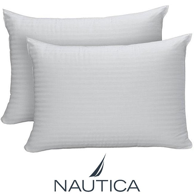 Nautica Allergen Reduction 500 Thread Count Bed Pillows (Set of 2)