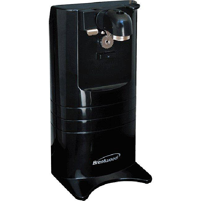 Brentwood J-25 Black Multifunction Can Opener