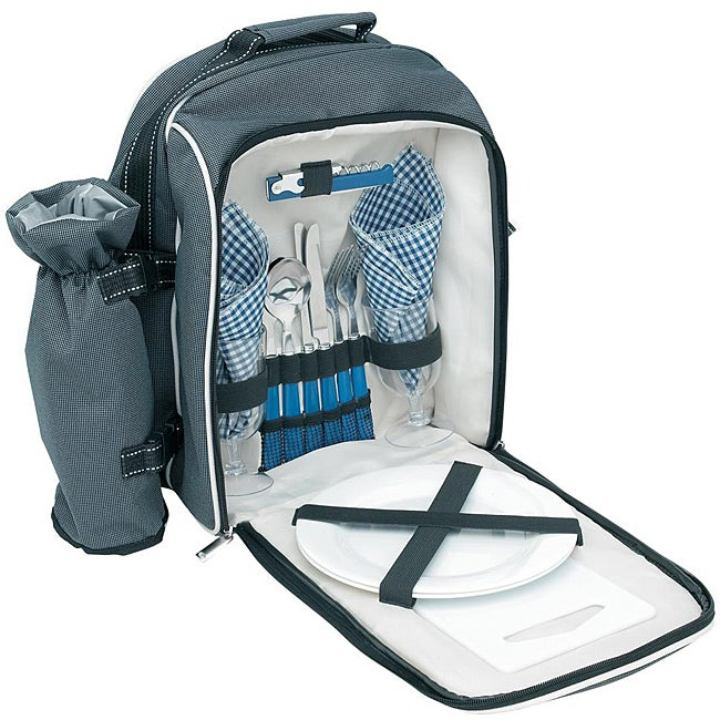 Shop Trailworthy Backpack Picnic Sets Pack Of 4 Free