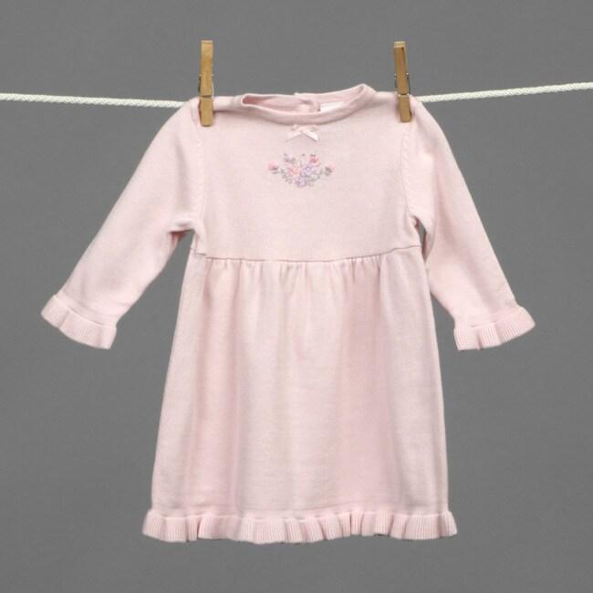 41c8b2640ec0 Shop Little Me Infant Girl s Long-sleeved Sweater Dress - Free ...