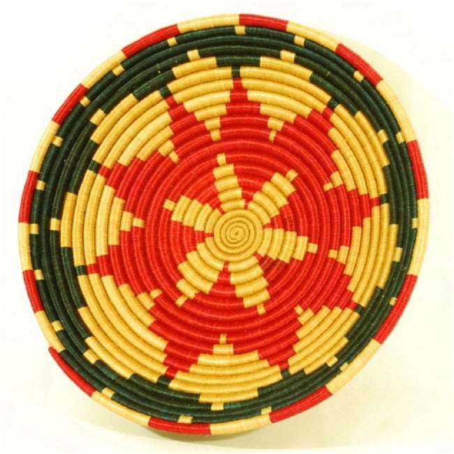 Plant Fiber Plateau Basket (Rwanda)