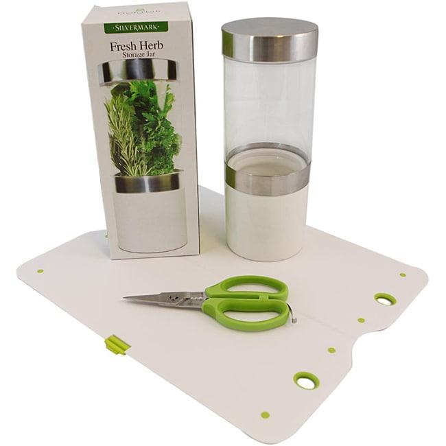 Silvermark 3-piece Herb Set