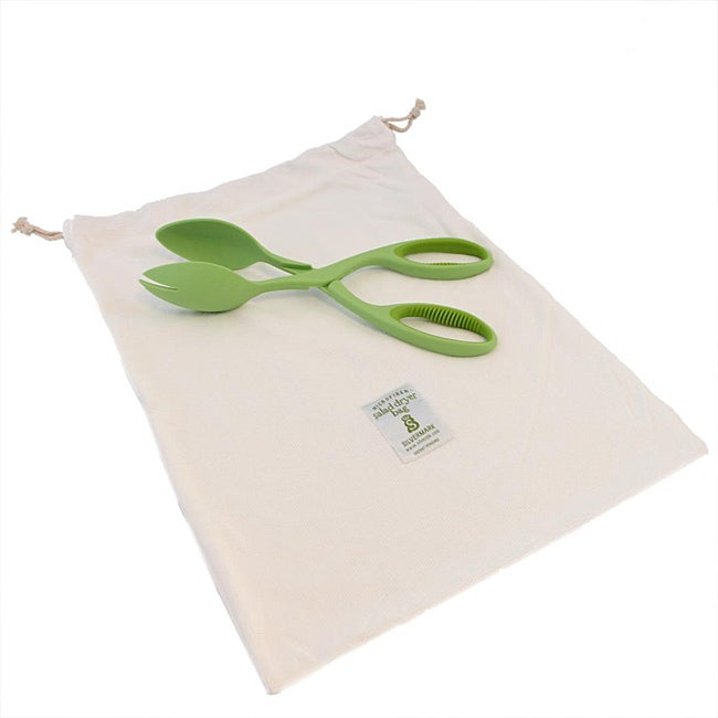 Silvermark Green 2-piece Salad Set