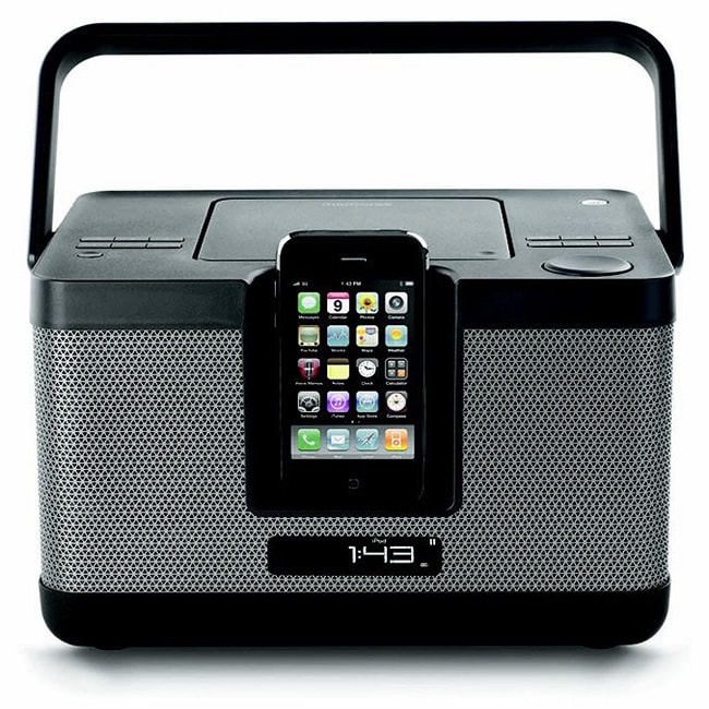 Memorex Party Cube CD Docking Station for iPod/ iPhone