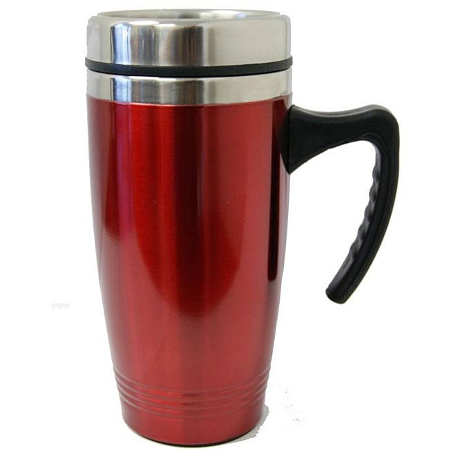 Red Copper Travel Mug Set Of