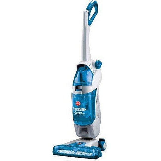 Hoover H3044 FloorMate SpinScrub Widepath Upright Hardwood Floor Vacuum