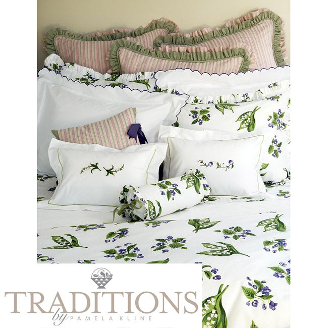 Mary's Garden Twin-size Duvet Cover Set