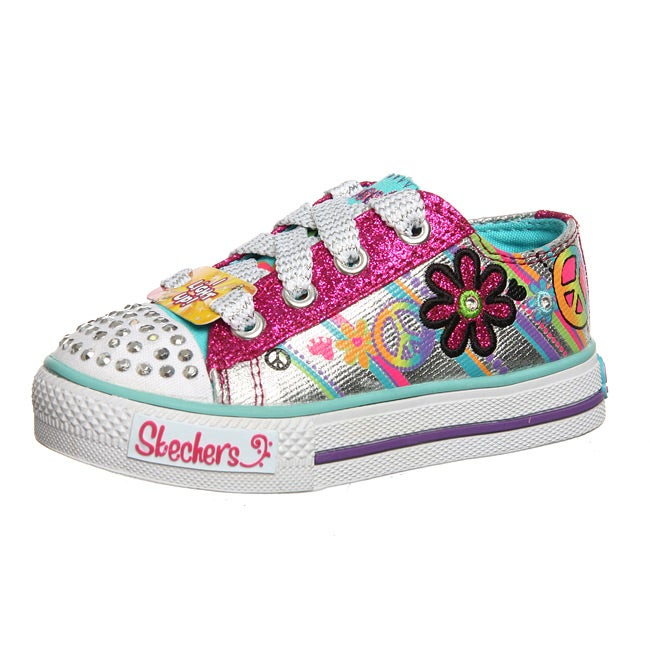 Skechers Toddler Girl S Groovy Baby Light Up Twinkle Toe