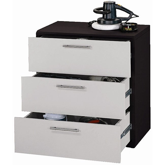 Stack On Read To Assemble 3 Drawer Project Center Free Shipping Today 13074020