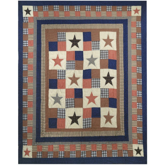 All American Cotton Throw