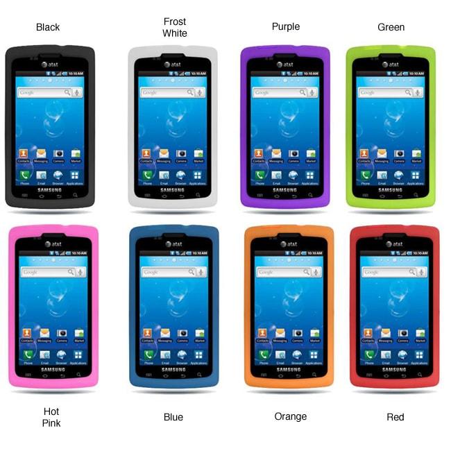Premium Samsung Captivate i897 Silicone Case