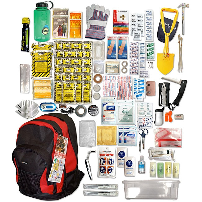 Two Person Three Day Emergency Preparedness/ Disaster '72 Hour' Kit