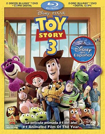 Toy Story 3 (Spanish Edition) (Blu-ray/DVD)