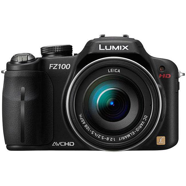 Panasonic Lumix DMC-FZ100K Black 14-megapixel Digital Camera