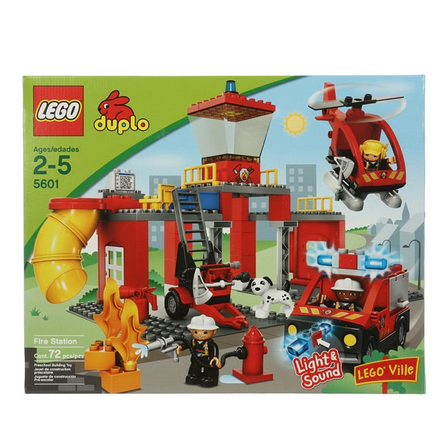 Kidkraft Train Table With Storage LEGO Duplo Legoville Fire Station (5601) - Free Shipping Today ...
