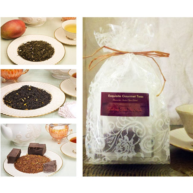 Taking Tea InStyle Pamper Me Tea Sampler