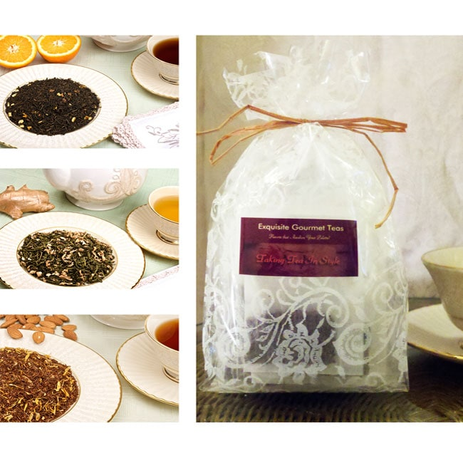 Taking Tea InStyle Exquisite Tea Sampler