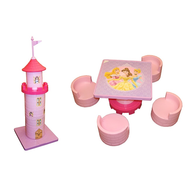 Princess Castle Table and Chair Set