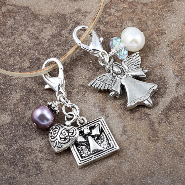 Fashion Forward Angelic Pearl Charms (7-9 mm) (Set of 2)