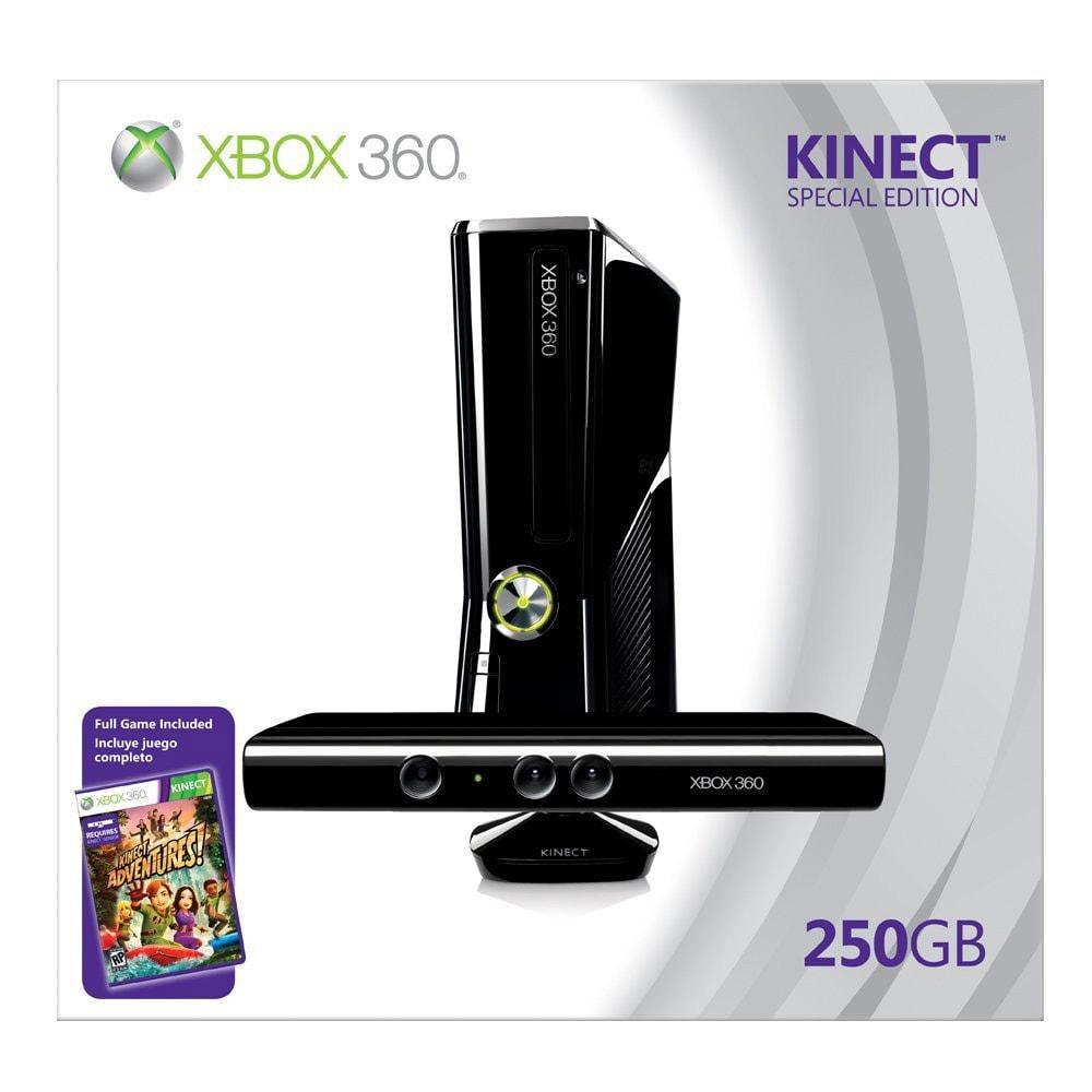 Xbox 360 - Xbox 360 System - 250GB Kinect Bundle