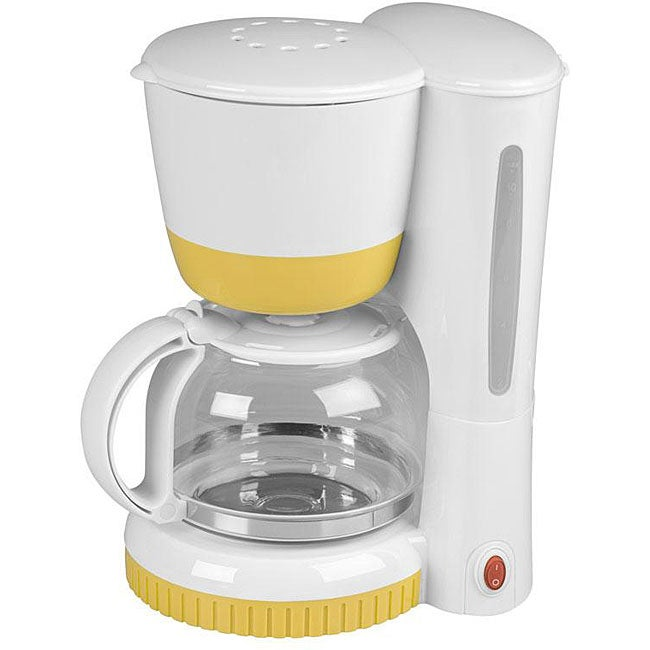 Kalorik Yellow 8 Cup Coffee Maker