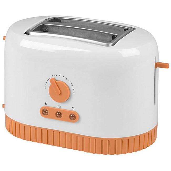 Shop Kalorik To 32851 T Tangerine 2 Slice Toaster Free
