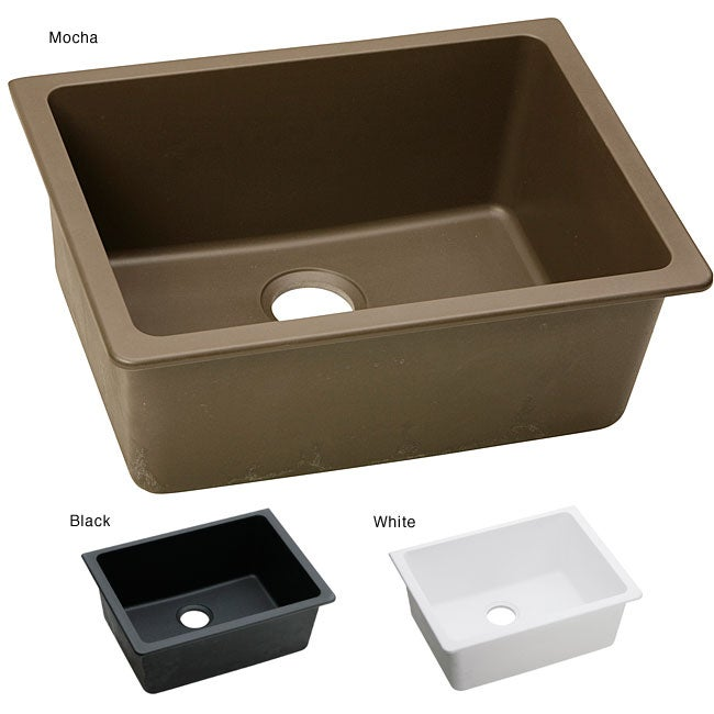 Elkay ELGU2522 E-granite 25x18.5-in Single-bowl Undermount Sink