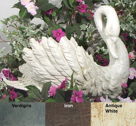 Shop Swan Planter Large Free Shipping On Orders Over 45
