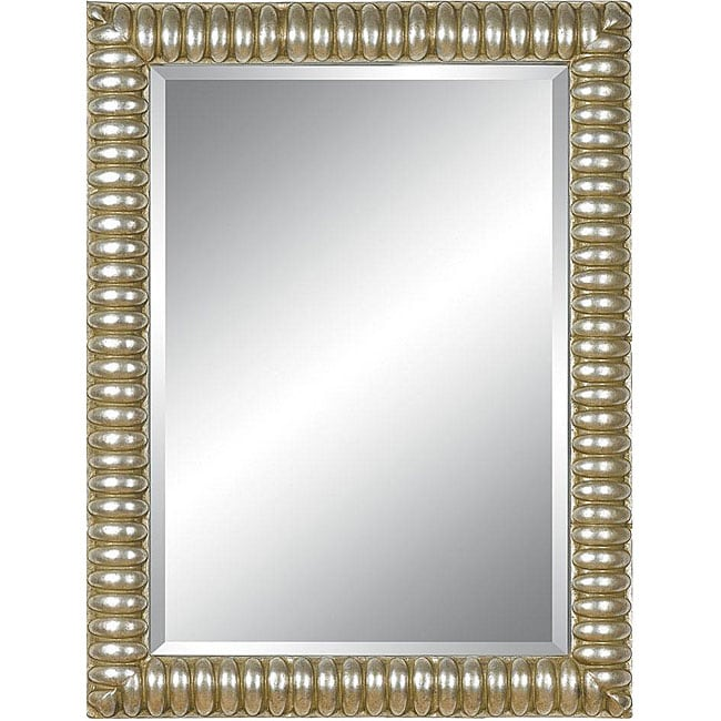 Shop Rectangular 36x48 Framed Silver Mirror Free Shipping Today