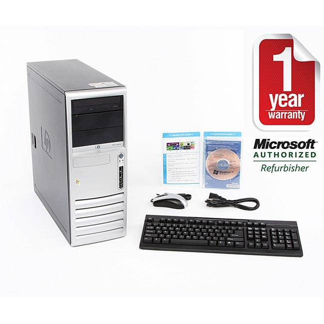 HP DC7600 3.4 GHz 2GB 500GB Desktop Computer (Refurbished) - Thumbnail 0