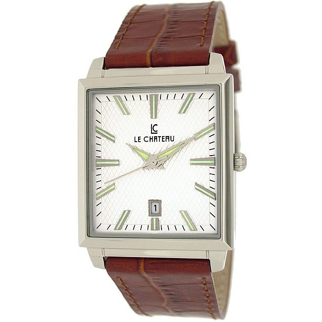 Le Chateau Classica Collection Men's Texture Dial Watch