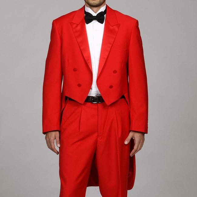 b0a289a231599 Ferrecci Men's Red Tuxedo