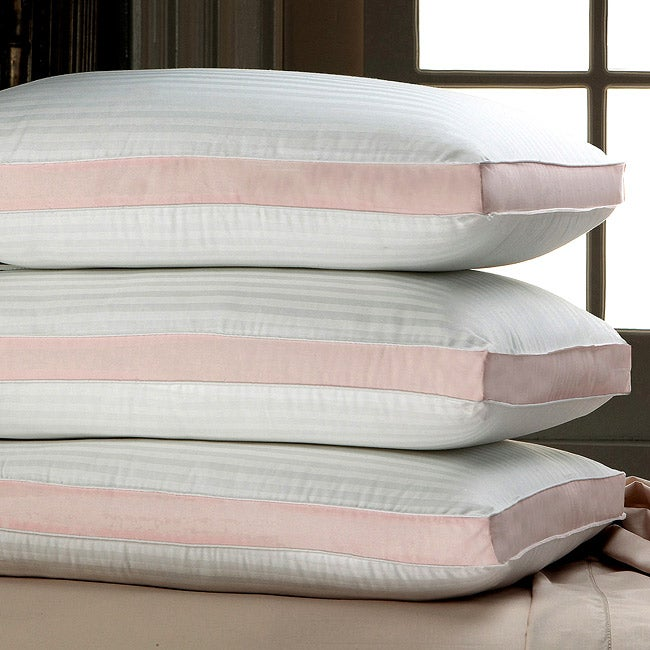 Pink Dreaming 250 Thread Count Jumbo-size Pillows (Set of 2) - Thumbnail 0