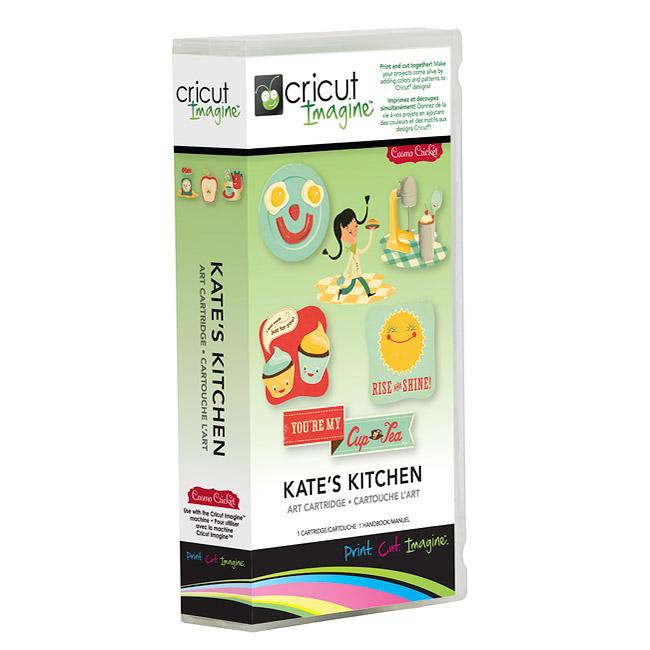 Cricut Imagine Kate's Kitchen Cartridge