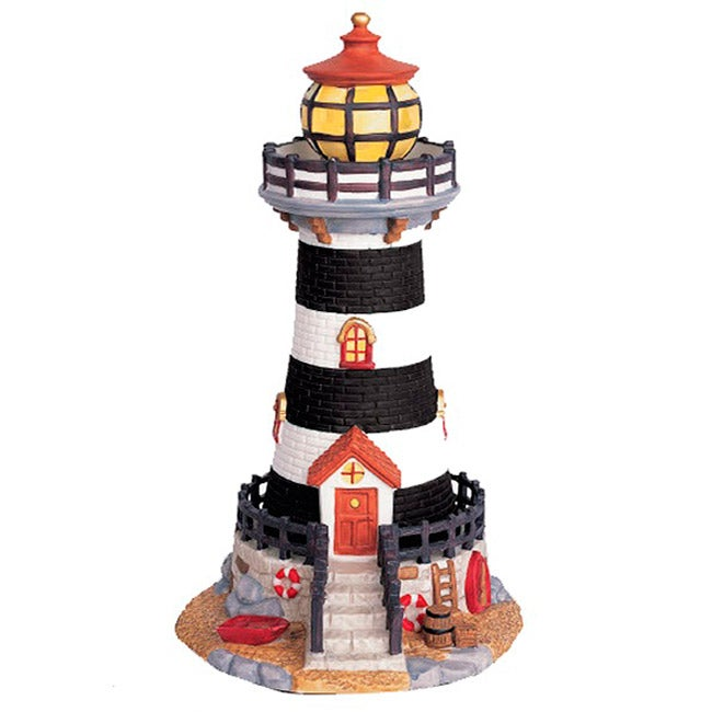 the village collections christmas lighthouse decor