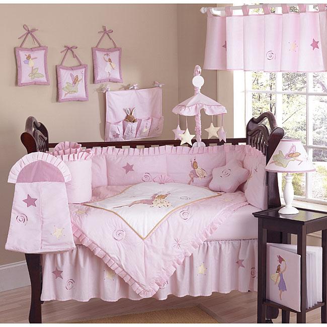 Shop Fairy Tale 9 Piece Crib Bedding Set Free Shipping