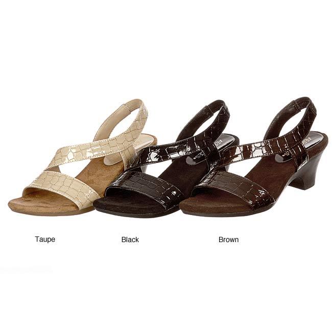 f39f621eb94 Shop Aerosoles Women s  Brasserie  Low Heel Sandal FINAL SALE - Free  Shipping On Orders Over  45 - Overstock - 5299026