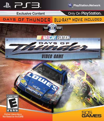 PS3 - Days of Thunder - Game and Movie - By 505 Games