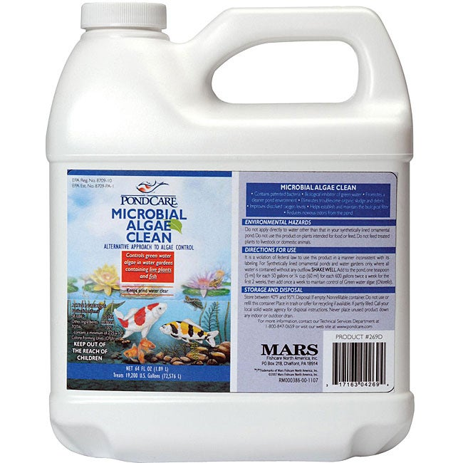 PondCare Microbial Algae Clean 1-gallon Pond Treatment