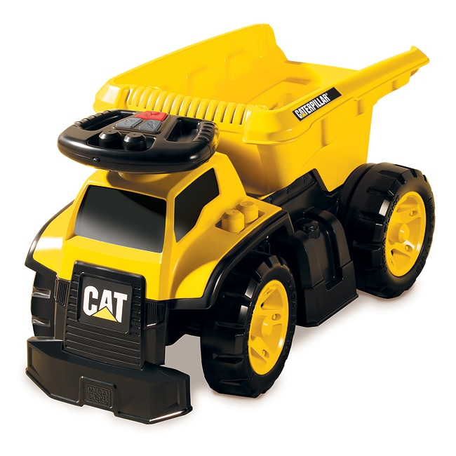 Mega Bloks CAT 3-in-1 Ride-on Dump Truck