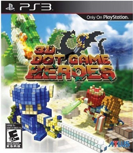 PS3 - 3D Dot Games Heroes (Pre-Played)