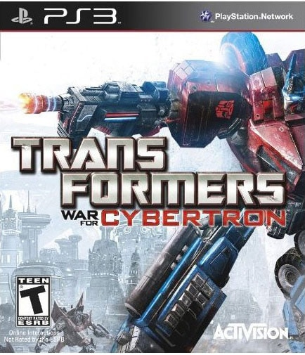 PS3 - Transformers: War For Cybertron (Pre-Played)