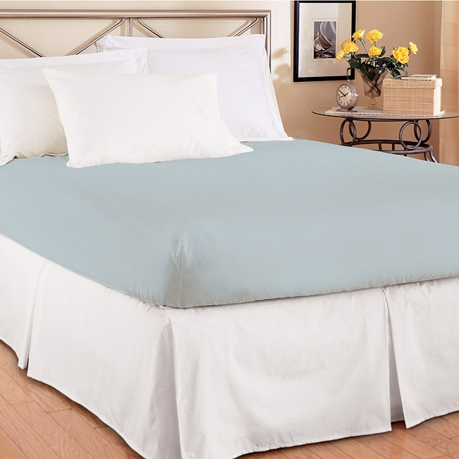 Full-size Easy On/ Off Box Pleated Bedskirt