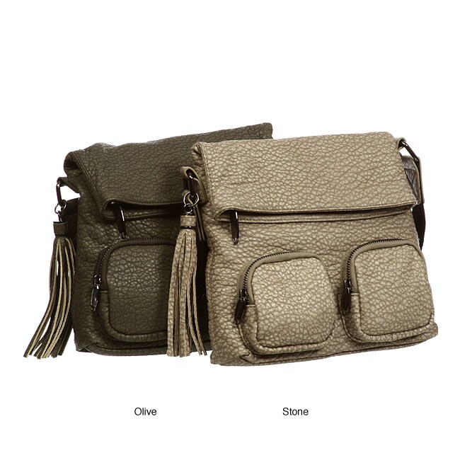 e30fe4547 Shop Kenneth Cole Reaction 'Urban Trekker' Cross-body Bag - Free Shipping  On Orders Over $45 - Overstock - 5303277