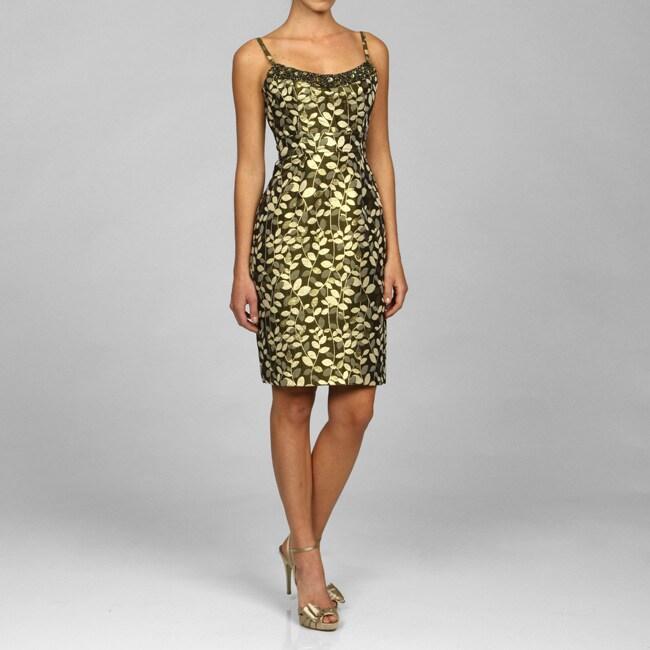 Maggy London Women's Brocade Dress