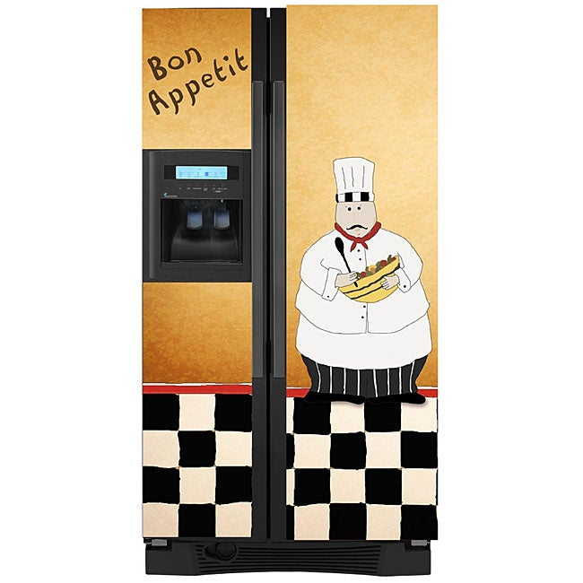 Appliance Art 'Chef' Refrigerator Cover